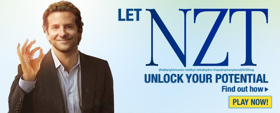 Let NZT Unlock Your Potential, 1-855-CLEAR-PILL